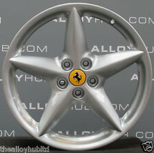 "Original Ferrari 360 Modena 18"" Zoll 5 Star Speichenräder X4 BBS"