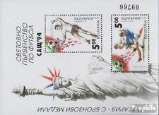 Bulgarie Bloc 227 (complète edition) neuf avec gomme originale 1994 Football-WM