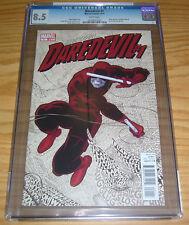 Daredevil #1 CGC 8.5 mark waid - paolo rivera - marvel comics - 2011 great cover
