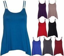 Viscose Tank, Cami Machine Washable Solid Tops & Blouses for Women