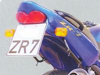 Gimbel Heck - Innenverkleidung Kawasaki ZR 7 (ZR7F) | 98-04 | unlackiert aus GFK