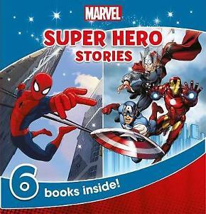 Marvel Super Hero Stories: 6 Books Inside! | Paperback | Brand NEW