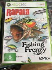 rapala fishing frenzy 2009 xbox 360
