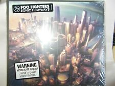 FOO FIGHTERS - SONIC HIGHWAYS - OZ 8 TRK CD - STILL SEALED - GROHL - NIRVANA