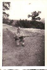 FOTO MILITARE ESERCITO ITALIANO ANNI '50 CARCANO MOD. 91-38 12-177