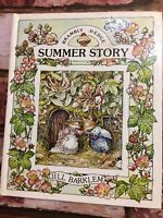 "BRAMBLY HEDGE ""SUMMER STORY"" VINTAGE 1983 BOOK JILL BARKLEM Childrens Books TBLO"