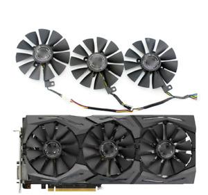 Fan For ASUS RX VEGA64 VEGA56 RX580 GTX 1080Ti GPU Graphics Card PLD09210S12M