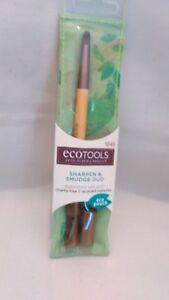 Ecotools Sharpen & Smudge Duo Eye Brushes