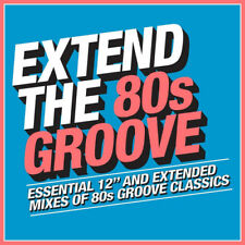 Various Artists : Extend the 80s - Groove CD (2018) ***NEW***