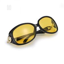 Myiaur Women Stylish Night Glasses for Driving, Yellow HD Nighttime...