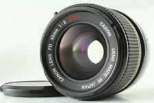【Excellent+++++】Canon FD 35mm f/2 S.S.C. SSC MF Wide Angle Lens from JAPAN #101