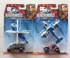 Matchbox Jurassic World - DFW17 DFW1 Sky Safari Mission Chopper Hauler 4x4 Cars