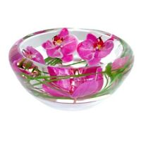 "EMILIO ROBBA ""ACCENTS DECOR"" FLOWER BOWL"