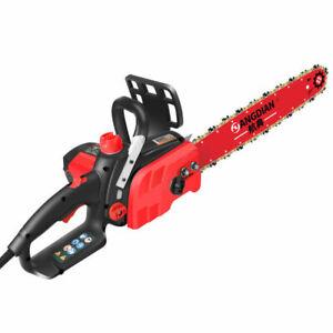 220V Electric Chain Saw Multi-function Logging Saw Tree Cutting Machine 400rpm