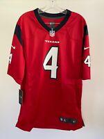 Men's Deshaun Watson Houston Texans Nike Player Game Jersey - Red