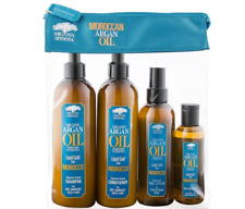 Argania Spinosa Moroccan Argan Oil 4 piece Gift Bag