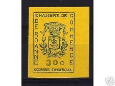 "FRANCE STAMP TIMBRE GREVE N° 14 "" CHAMBRE COMMERCE ROANNE 1968 "" NEUF xx TTB A21"