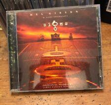 SIGNS soundtrack CD score JAMES NEWTON HOWARD m night shyamalan mel gibson