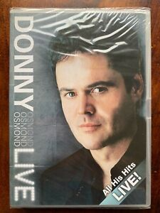 Donny Osmond All Hits Hits Live DVD 2003 Hammersmith Apollo Music Concert BNIB