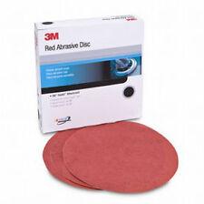 3M 1678 - Red Abrasive Hookita?? Disc 8 in 40 D Weight 25 discs per box
