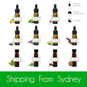 [Buy 2 Get 1 Free] 100% Pure Essential Oils Aromatherapy Diffuser Oil 10ml
