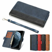 Cover For iPhone 12 11 8 7 6 Plus Pro MAX XR XS Luxury Leather Flip Wallet Case