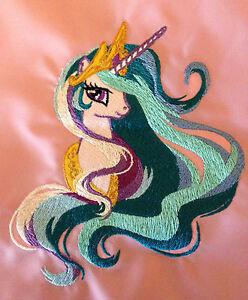 Personalised My Little Pony Princess Celestia School/PE/Gym Drawstring Bag