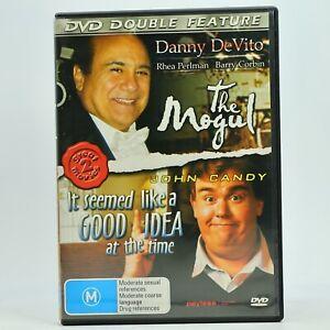 The Mogul / It Seemed Like A Good Idea At The Time John Candy Danny DeVito DVD