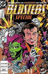Blasters Special Comic 1 Copper Age First Print 1988 Peter David James Fry DC .