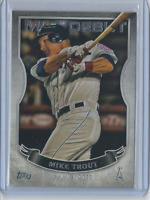 2016 Topps Debut SILVER #35 - Mike Trout Los Angeles Angels Legend - Mint