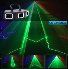 3 Lens RGB Beam Optical Network DMX Laser Light Home Party DJ Stage Lighting Yc