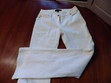 "BODEN White Denim Jeans Pants Size 8 Regular 5-Pockets 8"" Rise"