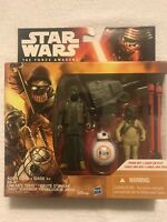 "Star Wars The Force Awakens 3.75""  3pack BB-8, Unkar Thug, Jakku Scavenger."