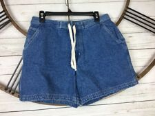 OP Denim Jean Shorts Size 13/14 Drawstring 100% cotton Blue