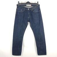 Levi's Jeans 514 Herren W32 L34 Blau Slim Straight Indigo Dark Wash Denim