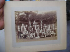 1930s Elliott & Fry British Pinner School Cricket Team Team Photo London Vintage