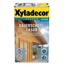 Xyladecor Dauerschutz-Lasur Holzschutzlasur Holzschutz kastanie 4 Liter Neuware