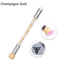 BORN PRETTY 2-in-1 Nail Art Stamper Sponge Head Nail Brush Blooming UV Gel Pen