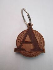 Cool Wooden KEY CHAIN ~ AVERY Brewing Co ~ Boulder, COLORADO Award Winning Brews