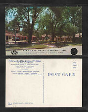 1950s Park Lane Motel Canon City Colo Postcard