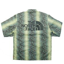 SUPREME THE NORTH FACE 18SS Snakeskin Taped Seam Coaches Jacket GREEN M