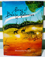 Poems of Banjo Paterson! Hardback & Dust Jacket Book Illustrated by Pro Hart!