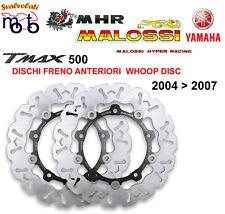 KIT DISCHI FRENO ANTERIORI WHOOP MALOSSI PER YAMAHA T MAX TMAX 500 IE 4T LC 2005