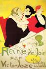 Artist Henri de Toulouse Lautrec Fine Art Poster Print of Painting Reine de Joie