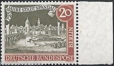 Berlin MiNr. 159 y SR ** 725 Jahre Spandau SR waagerechter Riffelung vom Bogen