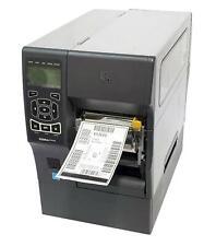 Zebra ZT410 ZT41042-T410000Z Direct Thermal Barcode Printer Peel Rewind 203dpi