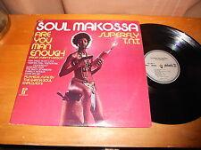 Ghana Soul Explosion 70s SOUL FUNK LP Soul Makossa 1973 USA ISSUE
