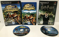 Harry Potter Lot of 2 games Quidditch and Order of the Phoenix ! PS2 ! 🔥