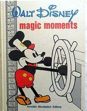 DISNEY CARTONATO MONDADORI I EDIZIONE 1973 MAGIC MOMENTS