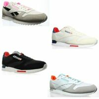 Reebok Mens Classic Leather Ripple Clip Fashion Sneakers